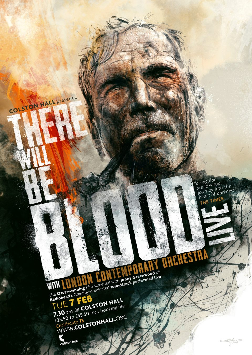 There Will Be Blood Live - Poster