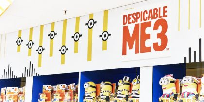 Despicable Me 3 @ Selfridges